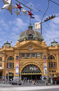 Flinders Street Station. Melbourne Royalty Free Stock Images