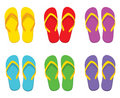 Flip-flop Set Stock Photography