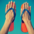 Flip-flops Royalty Free Stock Photo