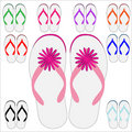 Flip Flops for Summer Stock Photo