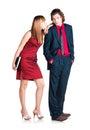 Flirtation Royalty Free Stock Photo