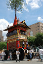 The float of Gion Matsuri, festival of Japan Royalty Free Stock Photo
