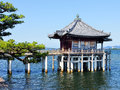 Floating Buddhist temple