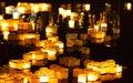 Floating Chinese Wish Lanterns...