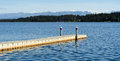 Floating Dock Royalty Free Stock Photo