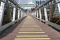 Floating Dock Royalty Free Stock Photo