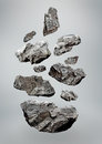 Floating/Falling Rocks