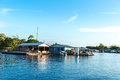 Floating houses in Manaus, Amazon, Brazil Royalty Free Stock Photo