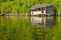 Floating Hut Royalty Free Stock Photos