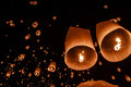 Floating Lantern Stock Photography
