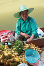 Floating Market, Thailand. Royalty Free Stock Image