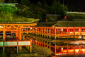 Floating Shrine Miyajima, Hiroshima Royalty Free Stock Photo