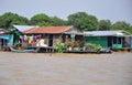Floating village Cambodia.
