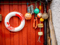 Floats for boats Royalty Free Stock Photo