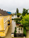 Flood, 2013, linz, austria Stock Image
