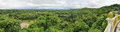 Flood in bangladesh scenic panorama of green landscape Stock Image