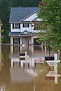 Flood Disaster Royalty Free Stock Photo