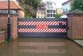 Flood gates Royalty Free Stock Photo