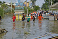 Flood in Karawang Stock Photos