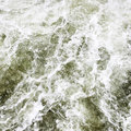Flood seethe water closeup abstract background Stock Photo