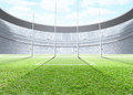 Floodlit Stadium Day Royalty Free Stock Photo