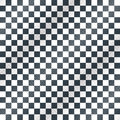 Floor, checkerboard or finish racing car flag vector Royalty Free Stock Photo