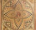 Floor mosaic. Royalty Free Stock Photo