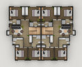 Floor Plan Royalty Free Stock Image