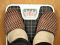 Floor scales Royalty Free Stock Images