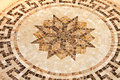 Floor star mosaic marble with octagonal shape Stock Photography