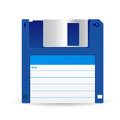 Floppy disc this is file of eps format Royalty Free Stock Photo