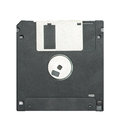 Floppy disc isolation Stock Images