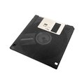 Floppy disk a computer isolated on a white background Royalty Free Stock Image