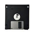 Floppy disk diskette inch old data storage Royalty Free Stock Photo