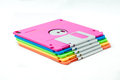 Floppy disk the isolate colorful disks Royalty Free Stock Photo