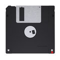 Floppy disk isolated render on a white background Royalty Free Stock Images