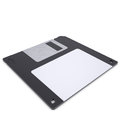 Floppy disk isolated render on a white background Royalty Free Stock Photo
