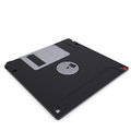 Floppy disk isolated render on a white background Royalty Free Stock Image