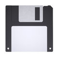 Floppy disk isolated render on a white background Stock Photography