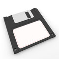 Floppy disk on a white background isolated Royalty Free Stock Image