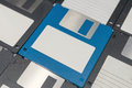 Floppy Disks magnetic computer data storage. Royalty Free Stock Photo