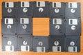 floppy disks. Royalty Free Stock Photo