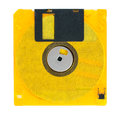 Floppy disks on a white background close up Stock Photo