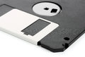 Floppy disks on a white background close up Stock Image