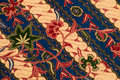 Flora sarong texture thai pattern background Stock Photography