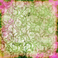 Floral abstraction Royalty Free Stock Images