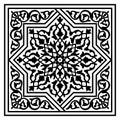 Floral arabic pattern