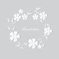 Floral background backgorund with cute flowers Royalty Free Stock Photos