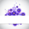 Floral background can used as a wallpaper or card Royalty Free Stock Image