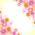 Floral background can used as a wallpaper or card Stock Image
